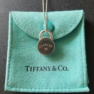 Tiffany & Co. Round Padlock (open) Necklace